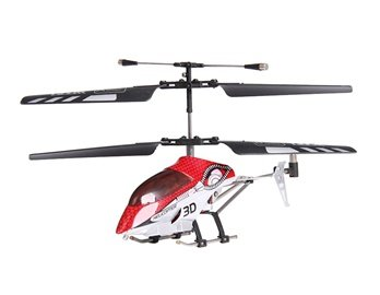 3-Channel Infrared Metal RC Helicopter with Night Light + Worldwide free shiping