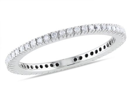 14k White Gold Diamond Fashion Ring (0.33 Cttw, G-H Color, I1-I2 Clarity)