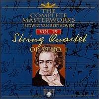 The Complete Masterworks ludwig van beethoven vol 29 op.59 no.1