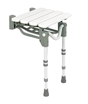 Homecraft Tooting Wall Mounted Slatted Shower Seat from Patterson Medical