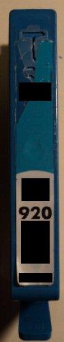 1x Druckerpatrone 920 cyan blau Refill für HP Drucker mit Chip OfficeJet 6000 6000SE 6000W 6000Wide 6000Wireless 6500 6500A 6500Aplus 6500AIO 6500Wide 6500Wireless 7000 7000SE 7000AIO 7000Wide 7500A 7500A Wireless E710a E710n E709 E710 XL