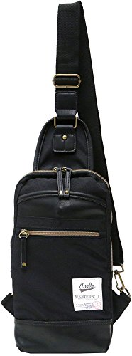 (マルカワジーンズパワージーンズバリュー) Marukawa JEANS POWER JEANS VALUE ショルダーバッグ メンズ ボディバッグ バッグ カバン 鞄 斜め掛け カジュアル レディース ユニセックス 3color Free ブラック