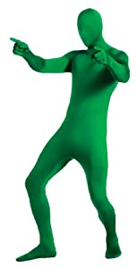 Rubie's Costume 2nd Skin Zentai Supersuit, Green, Large Costume