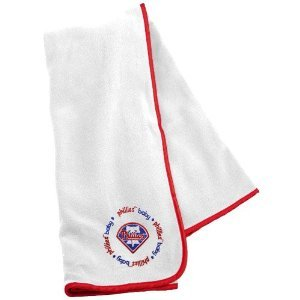 Baby Fanatic Philadelphia Phillies Receiving Blanket, 24 X 36-Inch front-399345