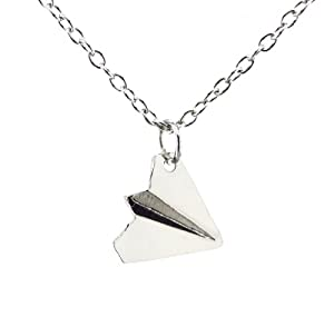One Direction Harry Styles Paper Airplane Necklace