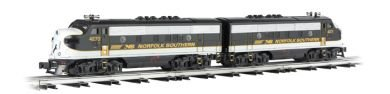 Williams By Bachmann Trains F3 Scale Diesel Locomotive Set - Norfolk Southern - Executive Train - O Scale