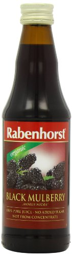 Rabenhorst Organic Mulberry Pure Juice 330 ml (Pack of 3)