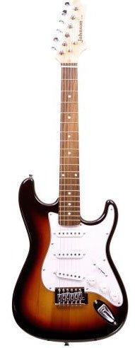 Johnson 3/4 Size Electric Guitar, Sunburst