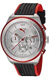 Puma Edge - L Silver Red Men's watch #PU102911003