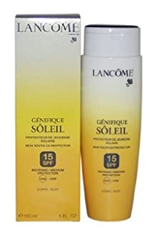 Lancome Genifique Soleil Skin Youth Uv Protector Spf 15 For Body Skin Protector