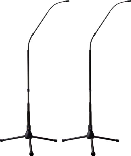 Earthworks Fw430Tpbmp | Flexwand 4.7-Foot Directional Microphone System With Tripod Base : Cardioid 30Hz To 30Khz (Matched Pair)
