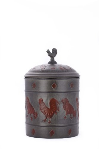 Old Dutch Rooster Cookie Jar With Fresh Seal Cover, 4-Quart, 7 By 11-Inch front-290798