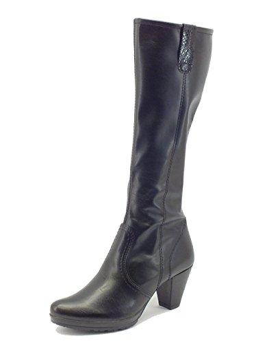 Stivali Mercante di Fiori in ecopelle nera (Taglia 38)