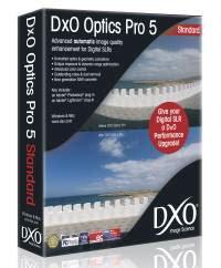 DxO Optics Pro v 4.2, Standard Edition Photo Enhancing Software for Mac & Windows.