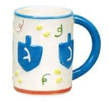 Ceramic Hanukkah Coffee Mug