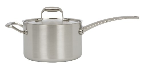 1 Sale American Kitchen Tri Ply 3 Quart Covered Saucepan New Cookware Cookware Sets Reviews