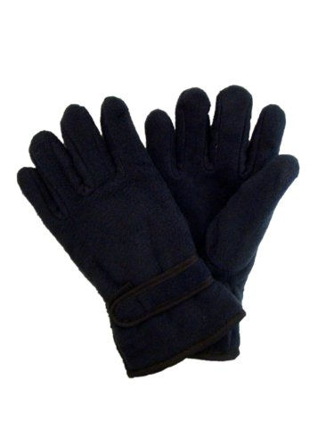 ladies-womans-thermal-fleece-gloves-with-thinsulate-insulation-one-size-navy