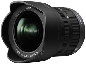 Panasonic 7-14mm f/4.0 Micro Four Thirds Lens - 50