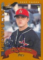 Doug Sessions Round Rock Express - Astros Affiliate 2002 Topps Prospects Autographed... by Hall of Fame Memorabilia