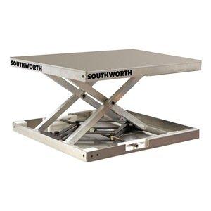 Scissor Lift Table, 300 Lb., 23 In. L
