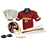 Washington Redskins Youth NFL Deluxe Helmet and Uniform Set (Medium)