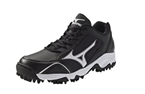Buy Mizuno Mens 9-Spike Erupt 2 Turf Training Shoe - Black by BTS