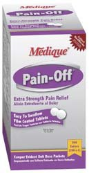 Medique 22833 Envlope 50-2pk Pain-Off Tablets