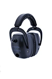 Pro Ears Tac Mag Gold NRR 30 Ear Muffs with 2 Lithium 123a Batteries by Pro Ears