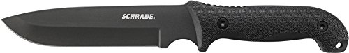 Schrade SCHF52 Frontier Full Tang Fixed Knife with Drop Point Blade