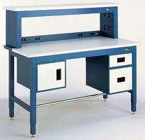 IAC Industries - QS-1020102-D - ESD Instrument Shelf with Static-Dissipative for 60 Benches