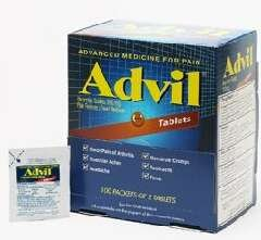 Advil Pain Reliever / Fever Reducer Tablet Dispenser 2-pack Pouch - 50 count (PRODUCT ARRIVES AS SHOWN IN PHOTO, IN THE ADVIL DISPENSER BOX)