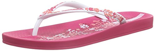 IpanemaAnat Lovely V Fem - Infradito Donna , Multicolore (Mehrfarbig (white pink 8071)), 37