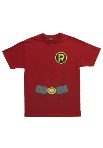 Robin Costume -- DC Comics - The New 52 Adult T-Shirt