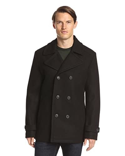7 for All Mankind Men's Double Breasted Peacoat