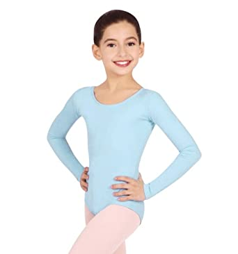 Low Price Capezio Long Sleeve Leotard – Red-Small