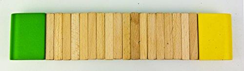 Green Tones 3767 Wood Kokoriko