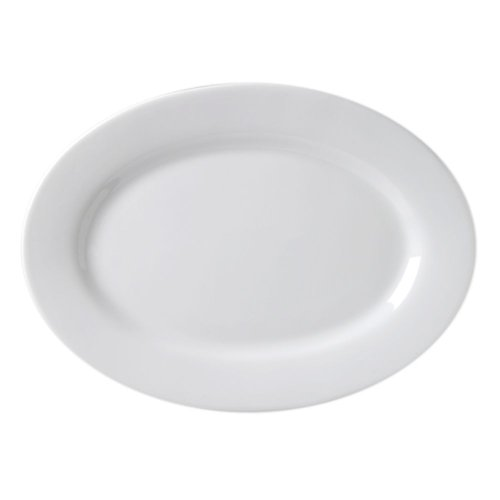 Cheap Vertex Market Buffet Collection White 20 In. Rolled Edge Platter – Case = 12 (ARG-30)