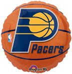 "Anagram International Indiana Pacers Flat Party Balloons, 18"", Multicolor"