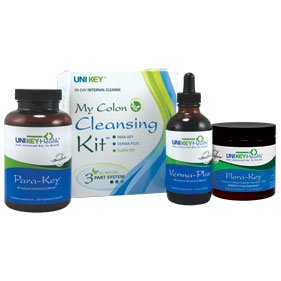 My Colon Cleansing Kit – Complete Cleansing Formulas that Help Eliminate Yeast (Candida), Parasites, Worms, and Wastes from Your System