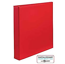 Martha Stewart Home OfficeTM with AveryTMSmooth-Finish Binder 1\