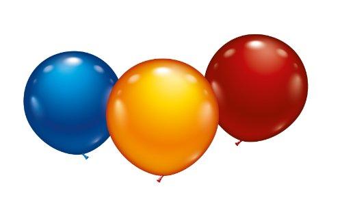 karaloon-10015-3-maxi-ballons-45-cm-sortiert