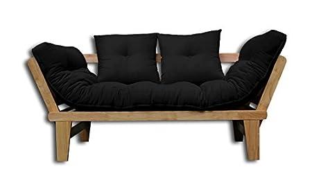 Sofá cama Sésamo-N-NE 200x82x32 cm