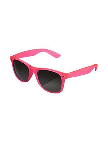 Masterdis Mstrds Likoma Glowing in The Dark Fluorescenti Sunglasses UV400 Occhiali da Sole Colore neonpink