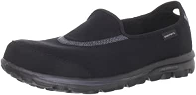 Skechers Performance Women's Go Walk Slip-On Walking Shoe,Black,5 M US