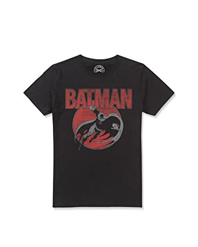 ZZ-DC Comics Camiseta Manga Corta Swooping Batman