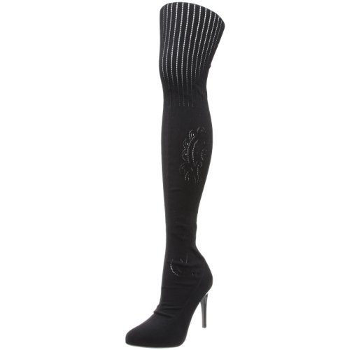 Donald J Pliner Women's Joist Western Boot,Black,7 M US