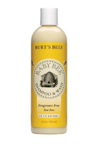 Burts Bees Baby Bee Fragrance Tear Free Shampoo & Wash, 12-Ounce Bottles (Pack of 3)