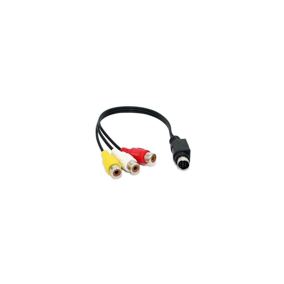 S Video 7 Pin To RCA TV OUT Laptop Cable For Acer Dell HP