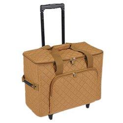 Hemline Camel Studio Collection Machine Trolley Bag from hemline