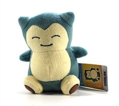 "Pokemon Center Pokedoll Plush Doll - 6"" Snorlax / Kabigon"